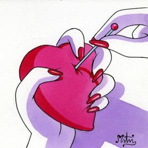 Perforando corazón
