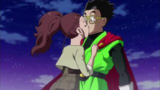 Cocoa-chan y Gohan beso